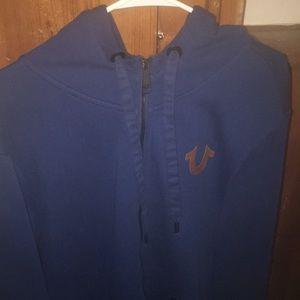 True religion hoodie last season large